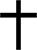 Kreuz 30mal50